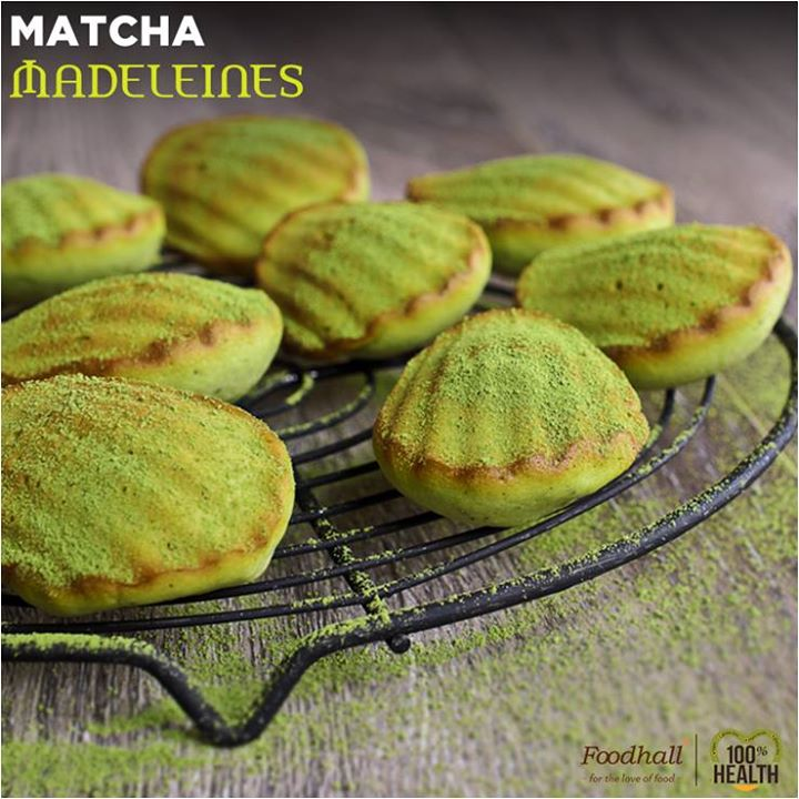 The Perfect pastry to savor with a cup of tea, we've given these classic French Madeleines a Matcha twist!   Check out these delicious Matcha Madeleines at Foodhall Today!