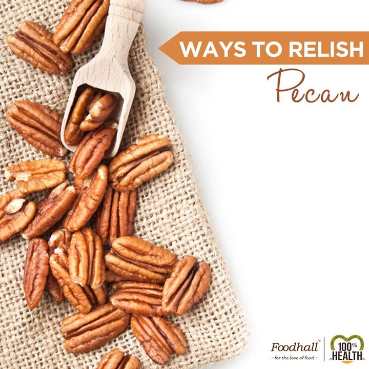 Rich in oleic acid,  vitamin-E, B-complex vitamins and an excellent source of  antioxidants and minerals, Pecans  will help keep your health in check throughout the year. Packed full of goodness, they make for a healthy snack.   Stock up on these nuts @Foodhall and relish them your way!