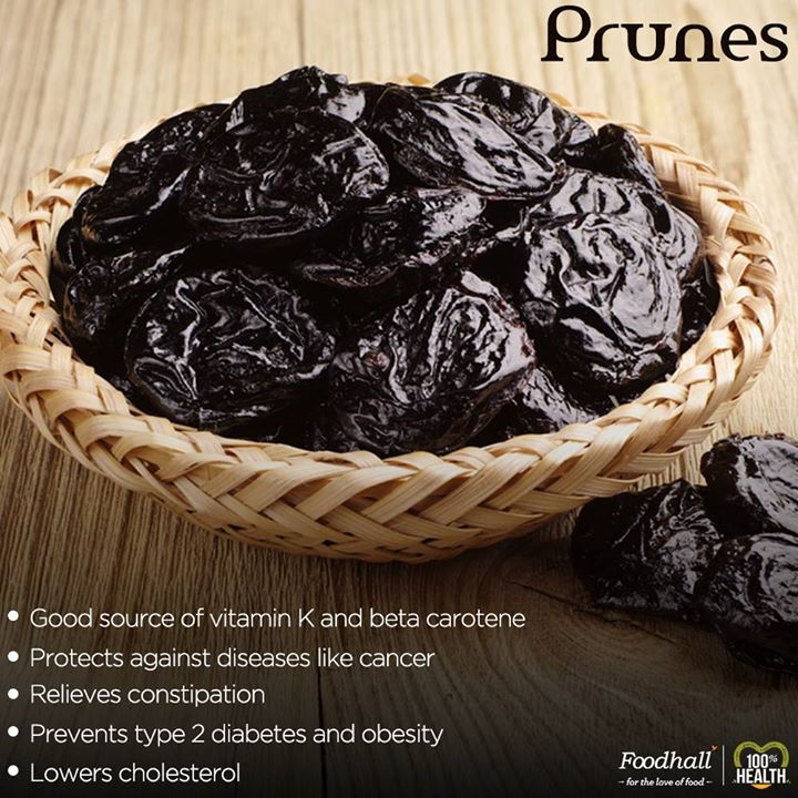 Benefits of Prunes: Prunes are packed with health benefits!  Blitz them into your smoothie or combine them with yogurt and honey for a delectable treat!  Stock up on this Superfood @Foodhall Today!