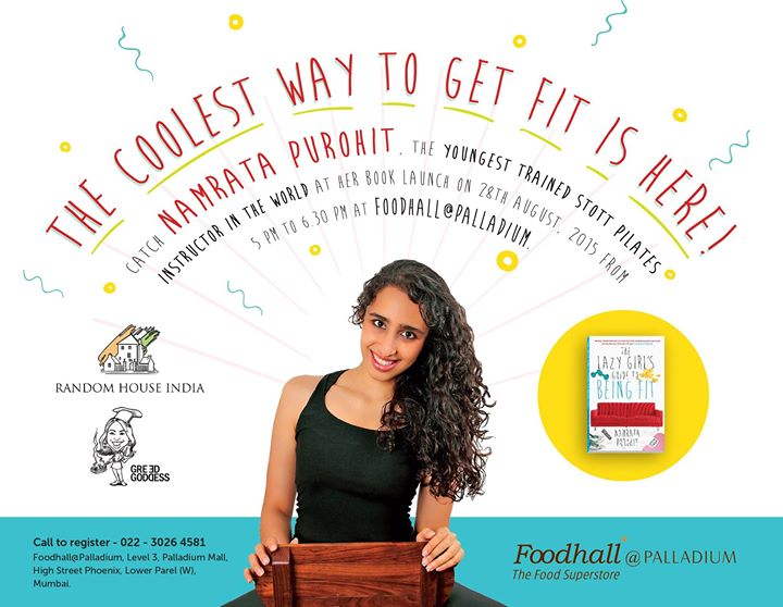 Join us for an evening dedicated to health & fitness as Namrata Purohit reveals the coolest way to get fit at the launch of her book