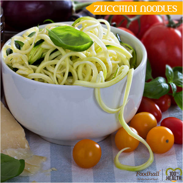 Toss them in light vinaigrette or eat them raw, these zoodles are a healthy alternative to those in-between cravings! Come and buy them from Foodhall Today!