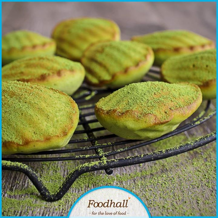 When the Japanese meet the French with a burst of green tea and almonds, Matcha Madeleines are born! Don't miss out on trying this mouth watering delicacy at a Foodhall store near you today.