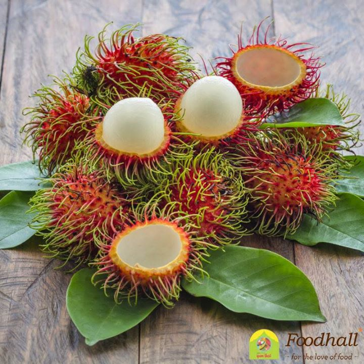 High in vitamins and antioxidants, the rambutan has an edible flesh that is deliciously sweet and juicy. It makes a wonderful addition to jams, jellies and desserts like cheesecakes.