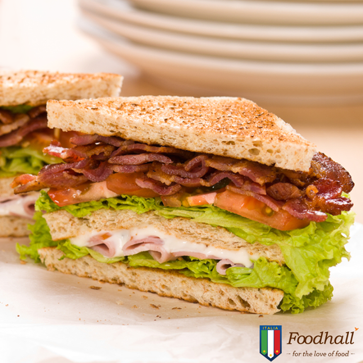 Make it hearty! Add some prosciutto to your basic BLT sandwich to keep you going through a busy day at work.