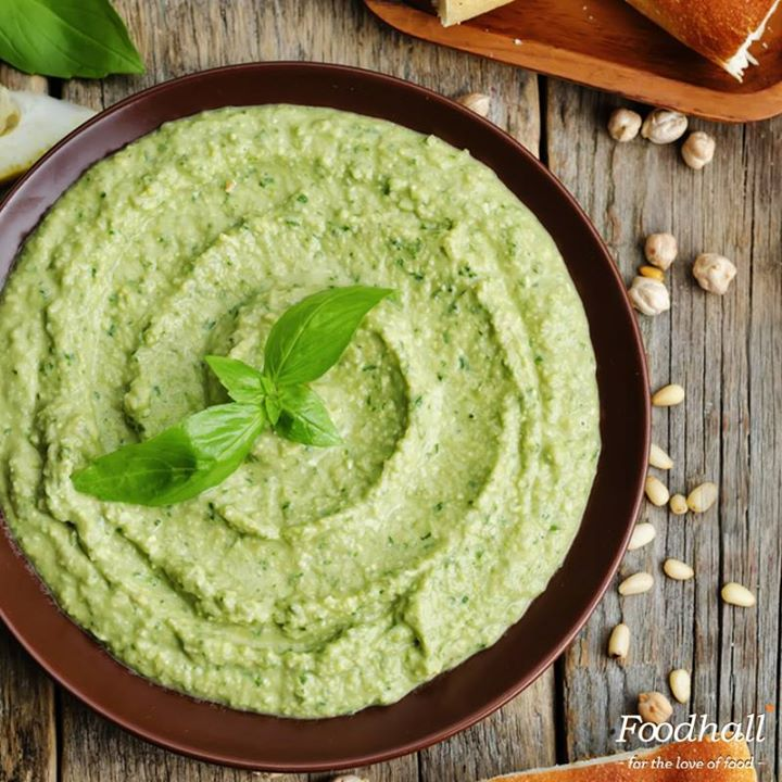 Delicious hummus bursting with the flavours of basil and lime, is an easy to make dip. A great way to start a party, serve it with assorted breads and crackers!