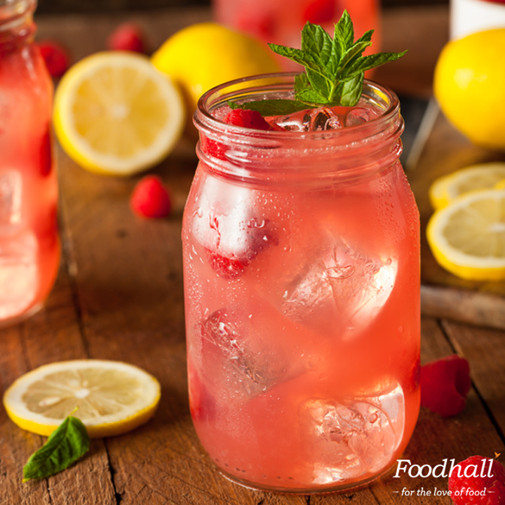 Give your regular party lemonade a refreshing twist by adding a raspberry and orange concoction to create a new party favourite.