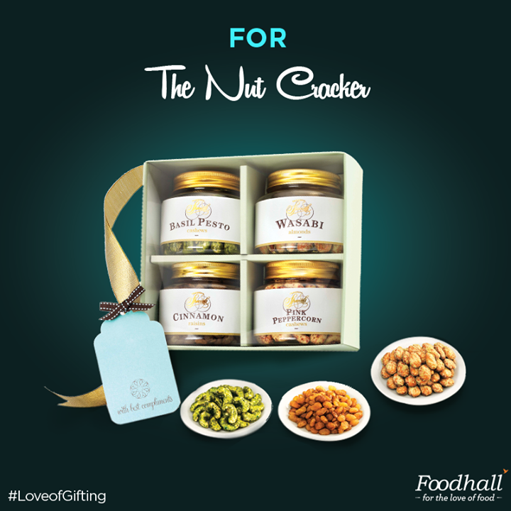 Please the one who loves nuts! Spiced and sweetened, this assortment of dried fruits and nuts makes for a delicious gift this festive season! #LoveofGifting