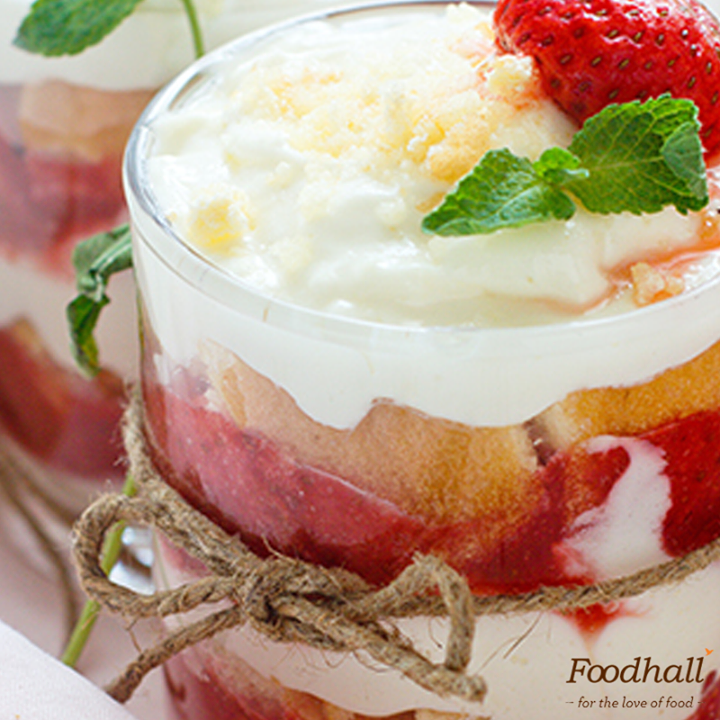 Surprise your guests with an elegant berry vanilla trifle.  Layer moist vanilla cake, whipped cream and sugar coated mixed berries to end your party on a sweet note!