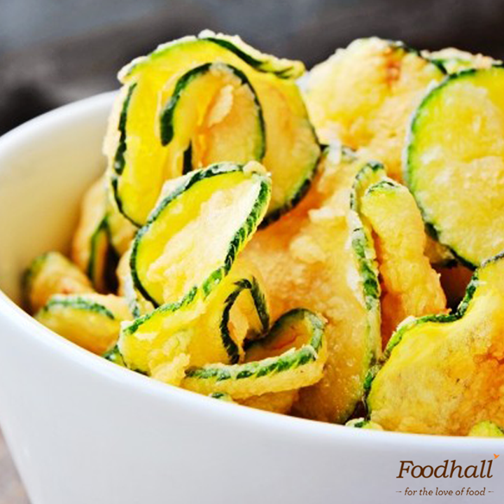 Zucchini chips are not just crispy and irresistible but extremely healthy too!   Brush thin slices of zucchini with olive oil, season with salt and pepper and bake them for 2 hours. Sprinkle with some Parmesan and enjoy.