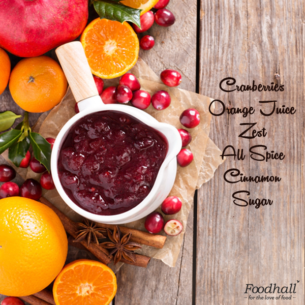With Christmas right around the corner, this warm and tart orange cranberry sauce will be the perfect accompaniment with your festive dinner!