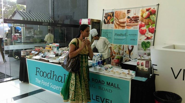 Foodhall participated at Karen Anand farmer's market in Bangalore on 12-13 December. We had great pleasure to showcase some of our best produce at the event.