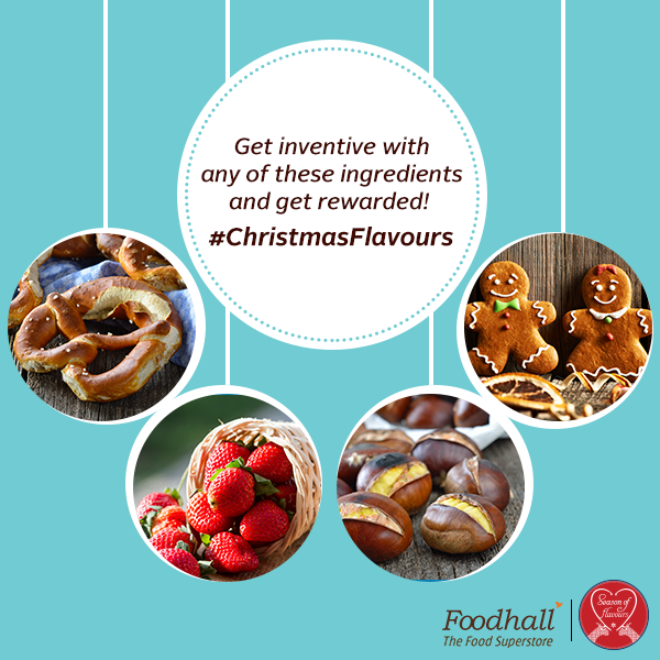 Santa loves experimenting with new #ChristmasFlavours. How are you giving your traditional Christmas treats a new twist? Share your ideas in the comments below. 3 lucky winners stand a chance to win Foodhall vouchers worth Rs.2500.  Contest ends on 26th December, 2015. Time to swap your chef's hat to an elfin one!