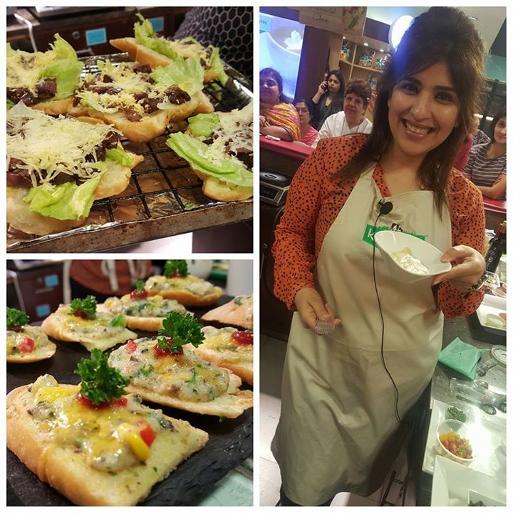 We had a wonderful and fun time at the cooking demo by Chef Rakhee Vaswani at Foodhall@Palladium this evening. Here are a few memories we will treasure forever!