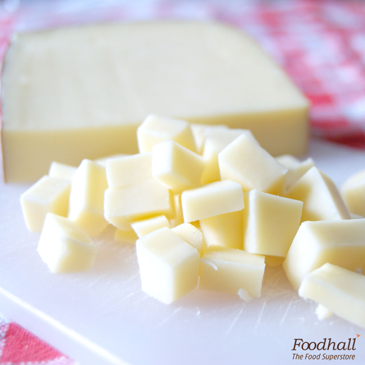 This versatile Italian cheese, fontina has an intense flavour with a woody and earthy taste. When added to a dish, from desserts to pastas, it melts beautifully and is a sure treat to your palette!