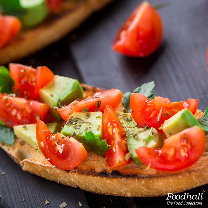 Toasted wholegrain bread makes the perfect base for all sorts of toppings and spreads, making it a delicious breakfast choice.   Slices of tomatoes placed on creamy, rich avocado and seasoned with salt & pepper is a match made in heaven that will definitely brighten up dull mornings.