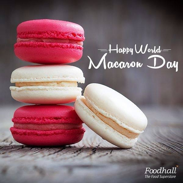 A Macaron a day, keeps the worries away! Celebrate World Macaron Day with a variety of macarons at our stores.