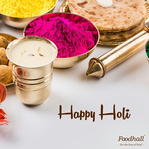 Let the colours work their magic in your homes today. Happy Holi!