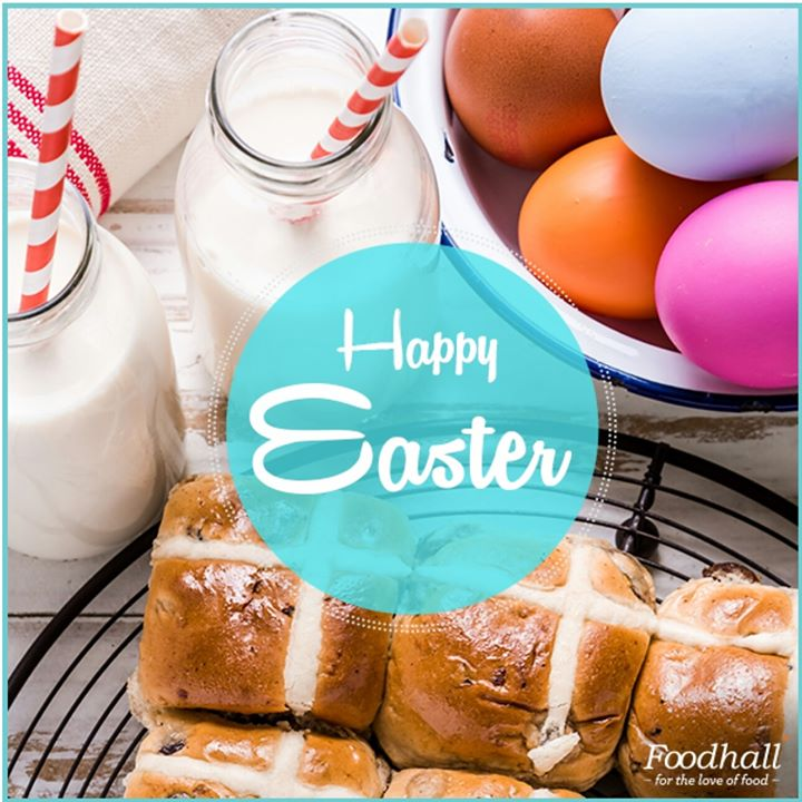 Rejoice and feast on the happiness that food brings to the table. Happy Easter!