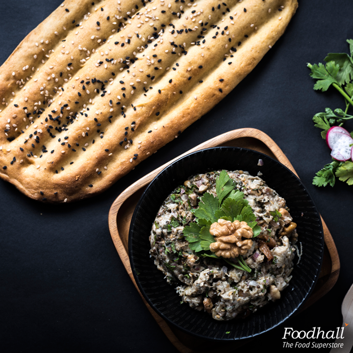 Bring a little bit of Persia to your kitchen!  Simmer down eggplants, garlic, walnuts, onions with Yoghurt and kosher salt for an authentic Persian dip, kashke Bademjan.  Serve it with nan e barbari for a great evening snack!