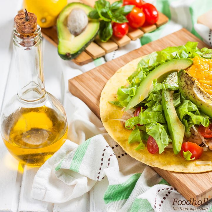 A classic Sunday brunch looks just like this!  All you need is 4 slices of avocados, 1/2 cup chopped heirloom cherry tomatoes and onions, 2 tablespoons chipotle sour cream and lettuce wrapped up in a tortilla to make brunch a delicious affair.