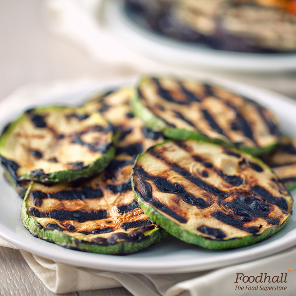 Who said snacks can't be healthy?  Toss 2 sliced zucchinis with 2 tsp extra-virgin olive oil, 1/4 tsp coarse sea salt, 1/4 tsp freshly ground black pepper in a bowl; preheat the pan and grill the zucchinis to perfection.