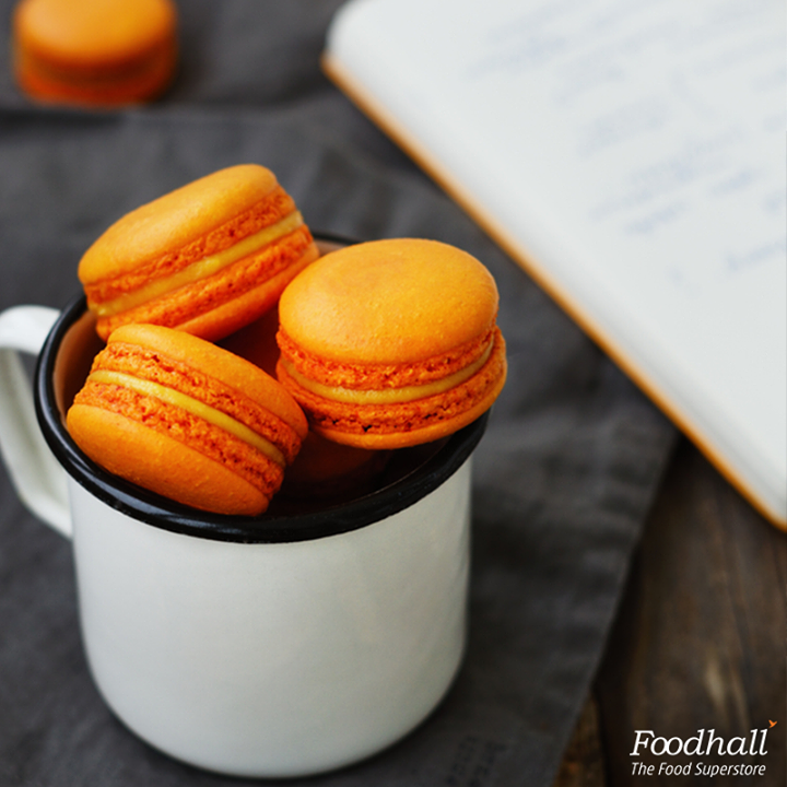 Our love for mangoes just keeps growing. The rich and flavourful mango macarons at our store are the proof.