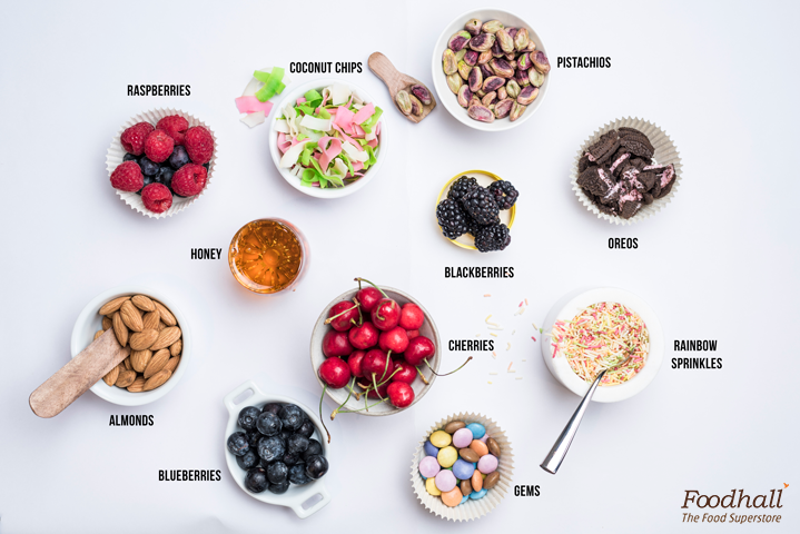 It's that time of the year when ice creams become a staple.   Pile up your favourite ice creams with our wide range of toppings at our DIY Sundae Station. From cherries to berries – we've got everything! Which one's are making it to your ice cream cups?