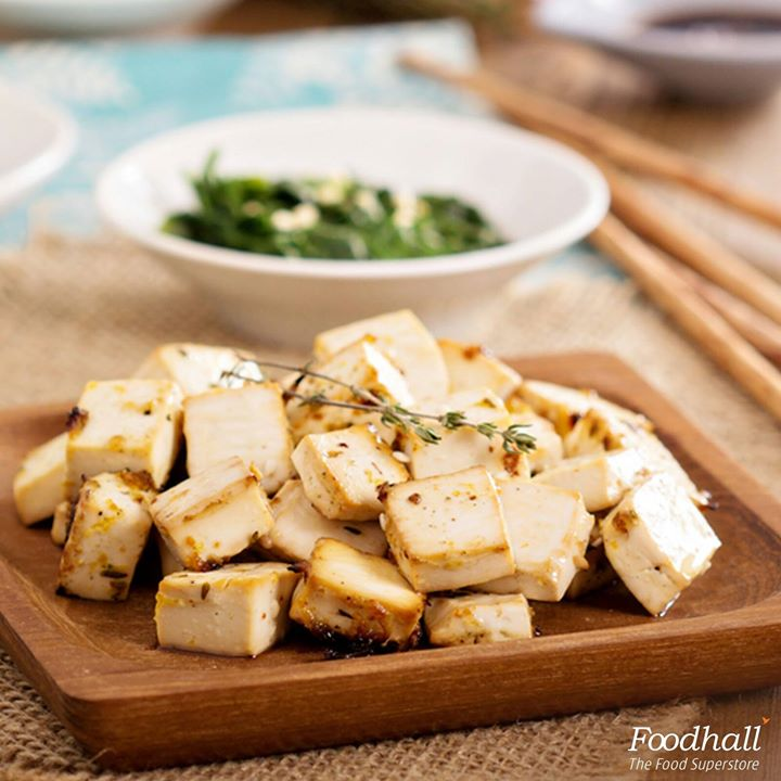 Treat your little ones to something tasty and healthy with Asian baked tofu.  Whisk together 2 tbsp sesame oil, 2 tbsp soy sauce, 1 tbsp rice vinegar, 3 tsp maple syrup, 1 tsp sriracha sauce, pinch of garlic powder, onion powder and sea salt. Marinate 2 cups of diced tofu in this sauce and bake until the edges turn light brown.