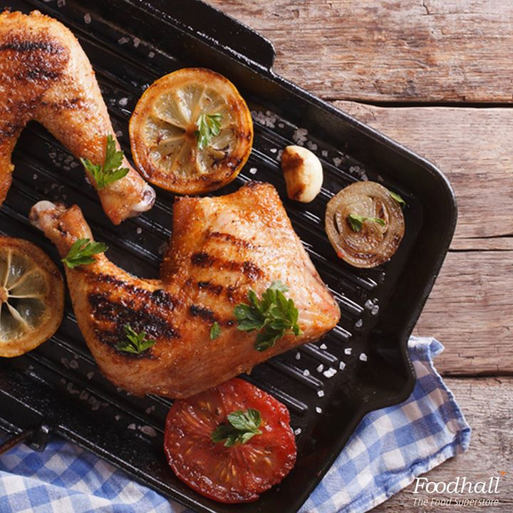 For a delicious chicken dish, marinate chicken overnight with Thai flavours and crisp it up on the barbeque. Heat ½ tbsp oil in a non stick pan over medium heat; cook the chicken until golden brown - around 3 minutes each side. Rest for a few minutes before serving with lime wedges on the side, garnished with fresh chilies and cilantro.