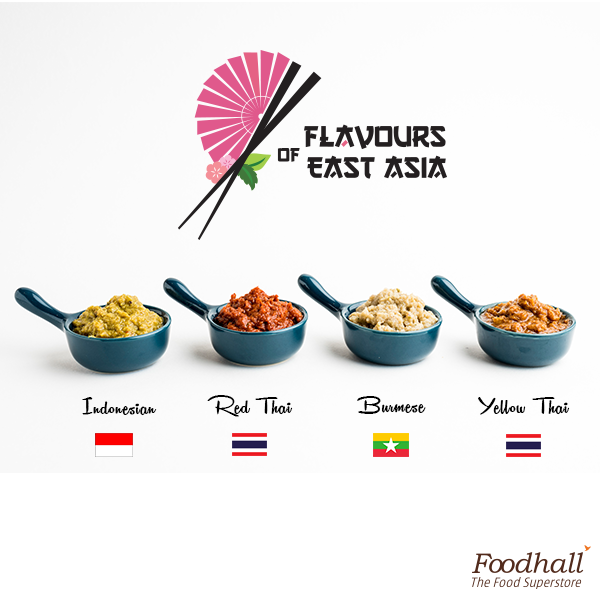 Be it Indonesian, Thai or Burmese, we have a flavour for every mood. Come by the store to taste these assorted curry pastes and add an East Asian twist to your palate.