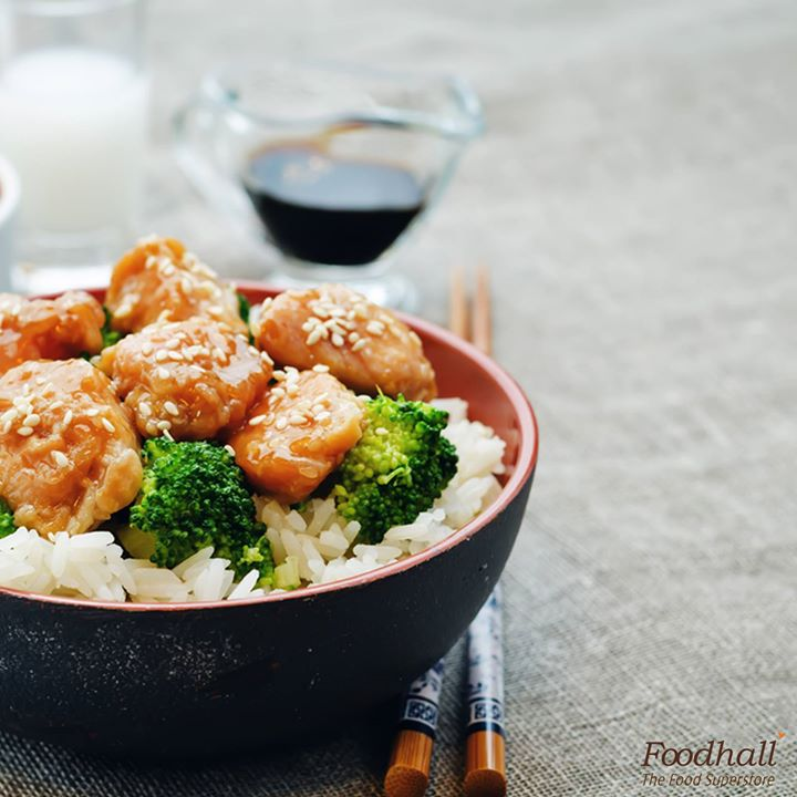Delicious and easy to make, try this Chicken teriyaki stir-fry today!  Sauté chicken till golden brown, add teriyaki sauce and your favourite vegetables and stir-fry for 2 to 3 minutes. Serve it hot in a bowl with aromatic jasmine rice!