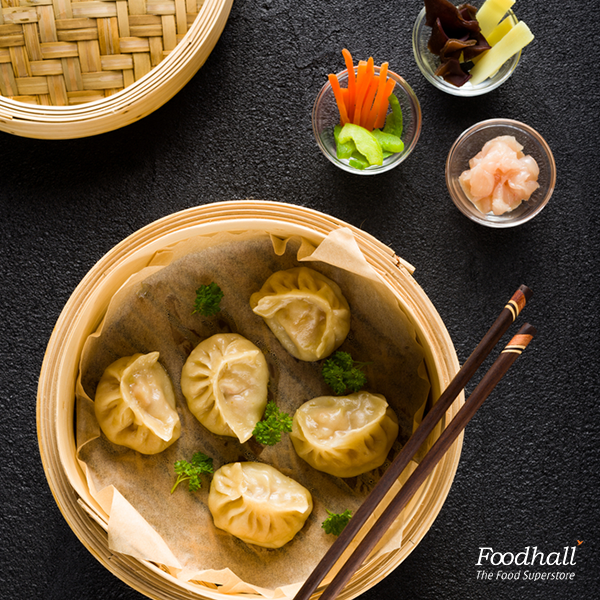 Bamboo baskets are perfect to steam dim sums, fish, vegetables and baos. Pick one up from Foodhall and make delicious meals at home.