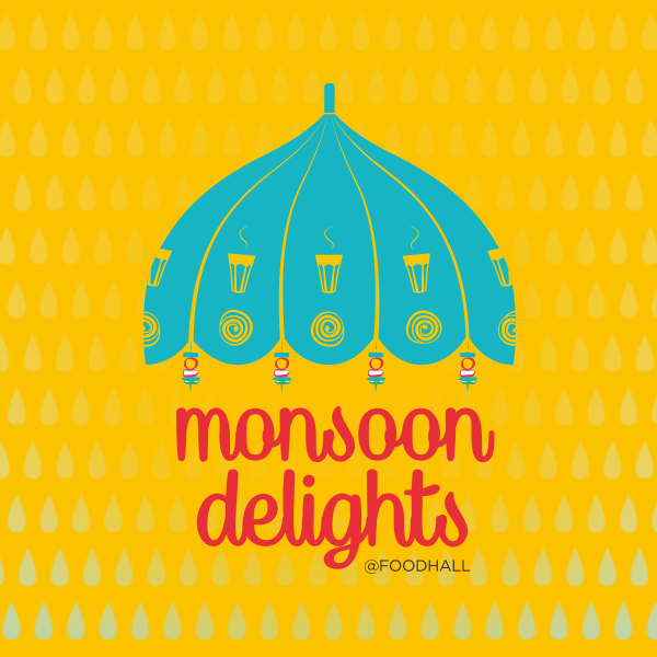 Sizzling hot delicacies and monsoon go hand in hand.  Foodhall brings you delicious monsoon delights all this month, walk in and pick your favourites. #ForTheLoveOfFood