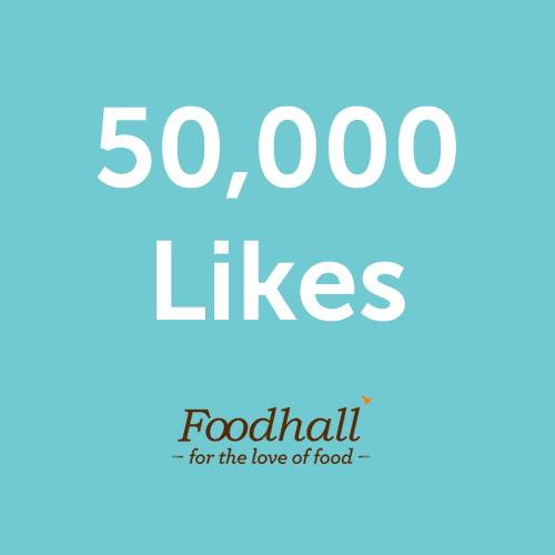 50,000 & counting.... Thank you for being a part of this delicious journey.