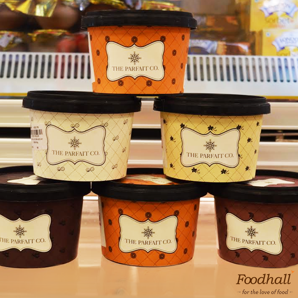 Cold, creamy and dreamy! Cool your taste buds with delicious flavours of ice-cream from The Parfait Co. – you'll keep coming back for more!