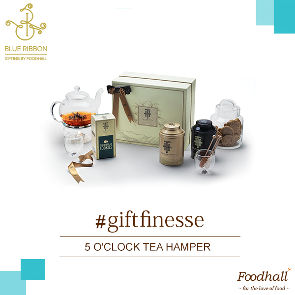 There are many ways to enjoy this festive season, the '5 o'clock Tea Hamper' from The House of Tea by Foodhall is a collection of premium loose leaf teas, cookies and elegant teapots - an ideal gift for those who find joy in a cup of tea.