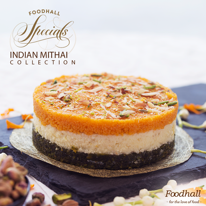 Gorge on deliciously sweet mithais from Foodhall Specials Indian Mithai collection – traditional favourites and gastronomic innovations – get them all before they're gone!  Click the link to know more & place an order with us: goo.gl/WOBlnN