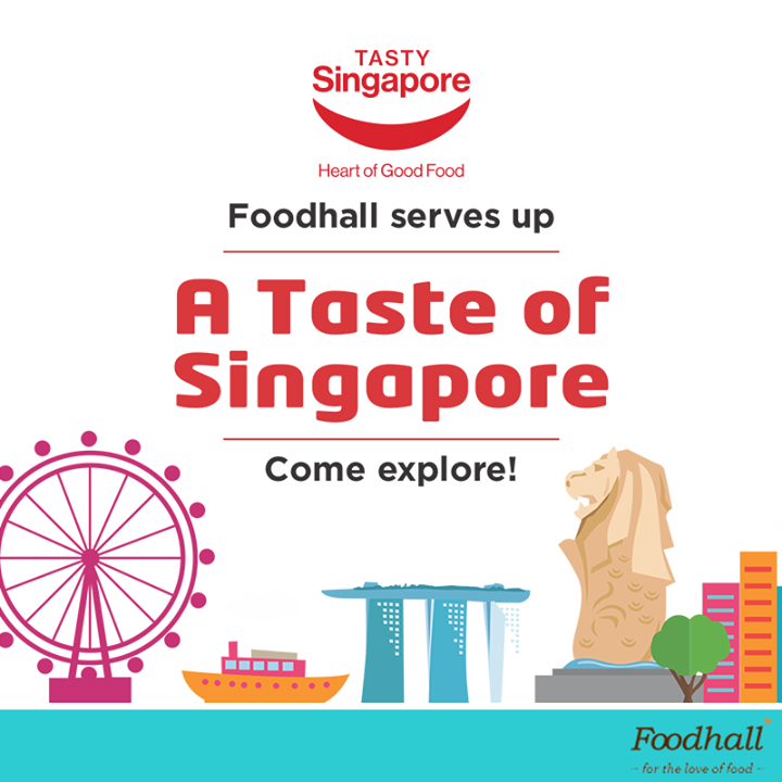 Singapore – known for its noodles, sauces and a myriad mix of flavours – has a lot to offer to anyone looking for a culinary adventure. If you're one of them, head over to our stores to choose from a variety of authentic products from brands like Peacock, Win2, and Koka amongst others. Come get a taste of Singapore! #TastySingapore