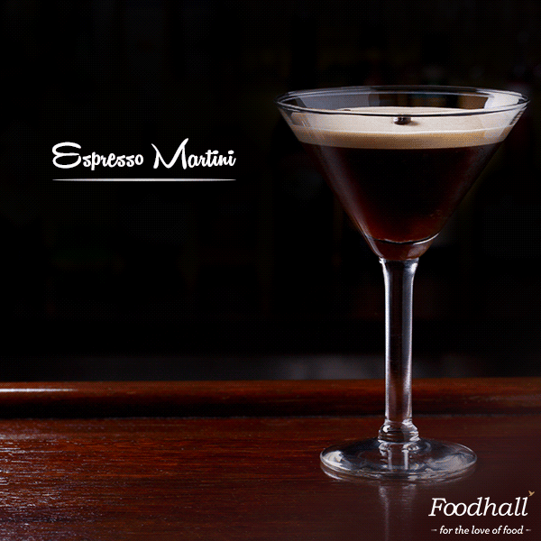 Perfect #cocktail for any #coffee lover: The Espresso Martini. Follow these steps to make one at home.