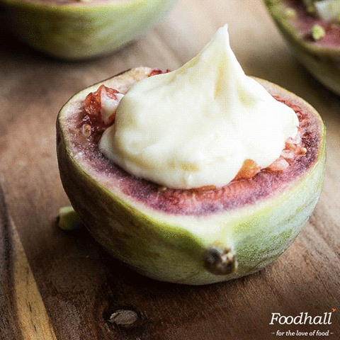 Give those luscious figs a delectable twist with some goat's cheese and a sprinkling of pistachios! Healthy diet hacks that you'll surely revisit.
