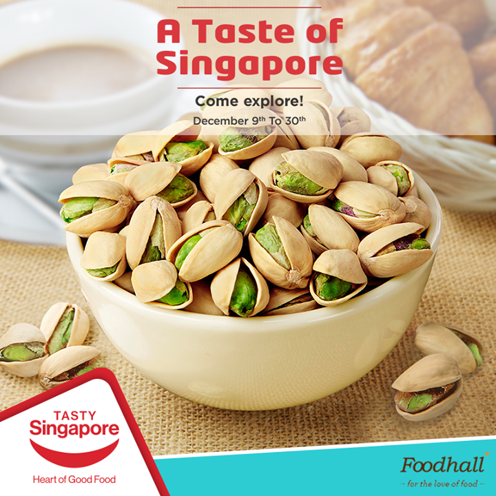 A nutritious portion of Tong Gardens' Salted Pistachios - rich in fibre and low in cholesterol makes for a healthy #snacking option when hunger strikes. Walk into our store and grab a pack of this nutritive snack today.   #cravingtonggarden #tastysingapore #tastynuts #healthysnacks #fitforactivelifestyle