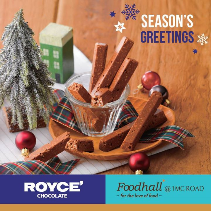 Gifts of love are all you need to spread a little Christmas Joy. Spread the festive cheer with a box of chocolates from ROYCE' Chocolate India available at our stores.