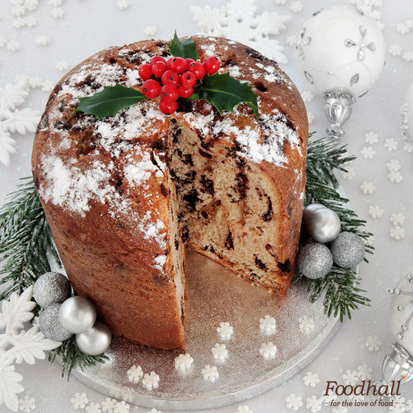There's something abundantly festive about Panettone. This Italian #Christmas favourite is studded with candied fruit & flavoured with spices.  Get this & a lot more Christmas specials from our Party Chef menu. Place an order today: http://foodhallonline.com/christmas-menu/