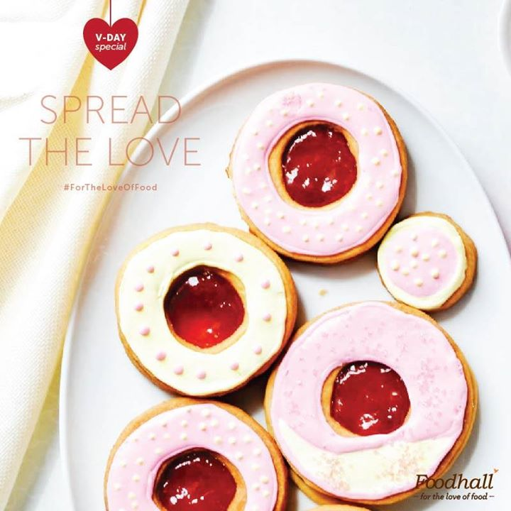 This season, gift your beloved a bite full of happiness, with our special strawberry shortbread cookies.  #ForTheLoveOfFood #ValentineSpecial #FoodhallRecommends