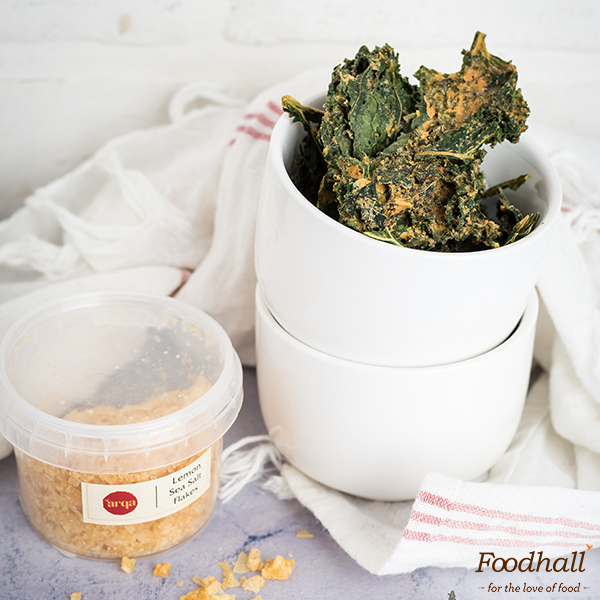 #HealthTip: Hop onto the kale bandwagon with homemade kale chips & season them with ARQA Lemon Sea Salt flakes to add a little zing!