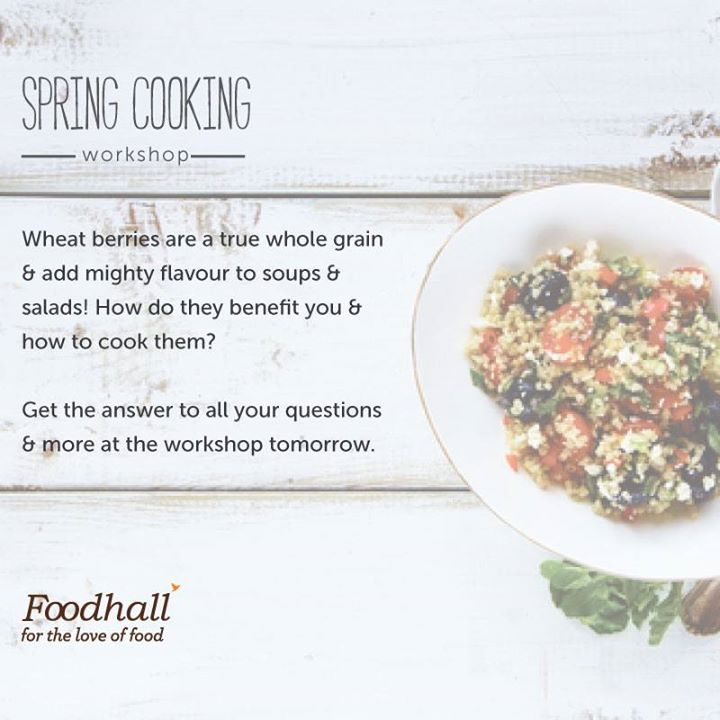 If you love the season's produce, you cannot miss this cooking workshop hosted by Dr. Nandita Iyer a.k.a. Saffron Trail.   Please join us on 10th March from 3 p.m. to 4 p.m. at our newly opened Foodhall VR Bengaluru to get the latest tips & tricks to amp up your kitchen game.   Call 080-46524155 to RSVP.