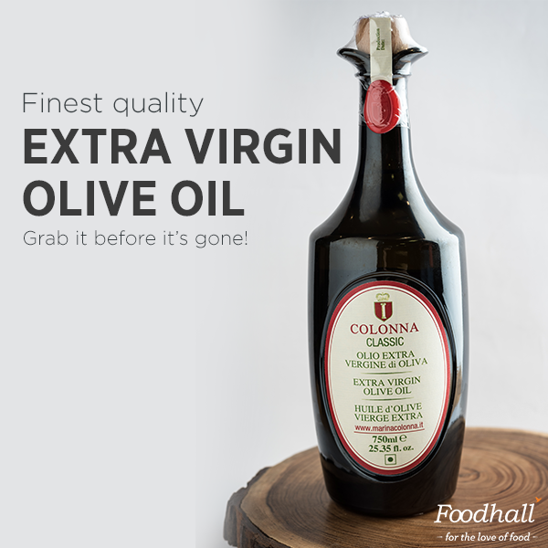 Add this sophisticated bottle of Extra Virgin Olive Oil from  Colonna Olive Oil to your pantry right away – it may not be long before it flies right off our shelves!  While it can be used for cooking, it's best to save it for dipping bread, salad dressings & cold dishes.