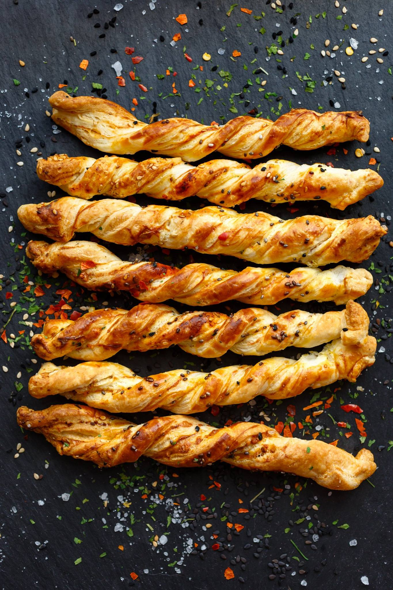 Whip up a batch of delicious cheese straws, made using Kalari, an Indian origin #cheese. This delightfully crunchy #snack is surely going to earn you a dozen compliments at your next party.