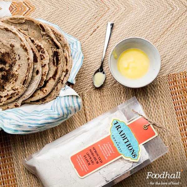Maximise your health with Sprouted flours from 'Traditions by Foodhall'. It's flour with more power!