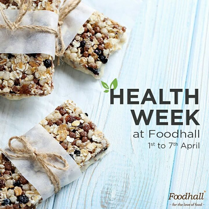 Healthier bodies lead to healthier minds. World Health Day is a week away & we have a lot in store for you – literally! Visit us anytime until 7th April to make #healthy food choices for a fitter & happier you!